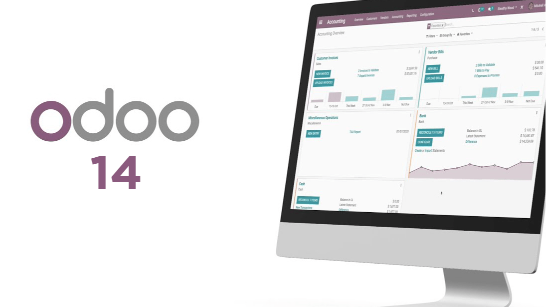 Odoo - Sample 2 for three columns